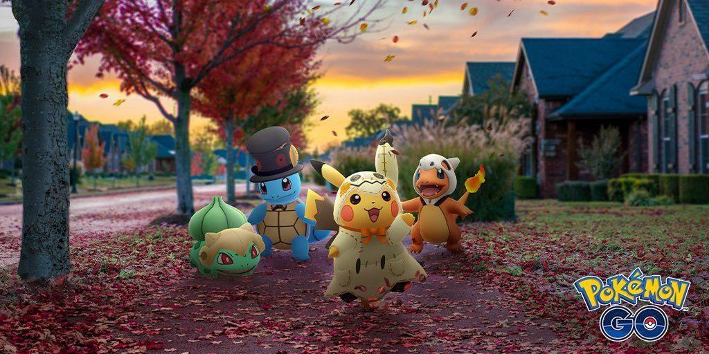 Anunciado el evento de Halloween 2019 en Pokémon GO