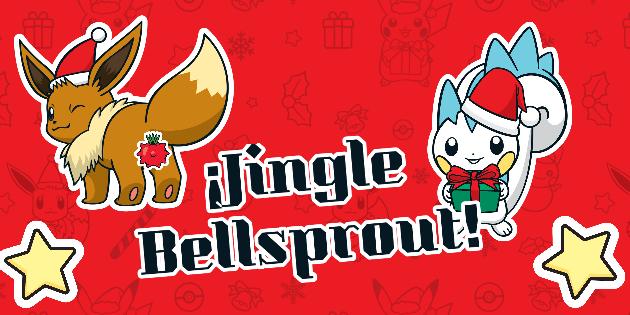 Diseña tarjetas de navidad con Pokémon para tus amigos y enemigos