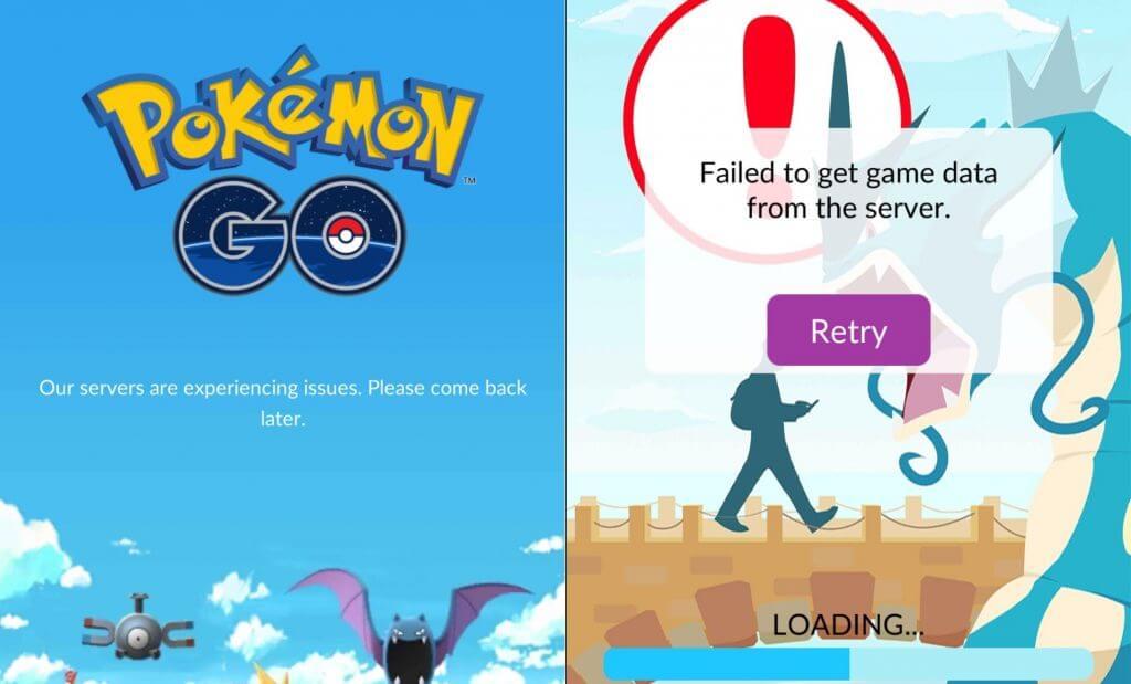 Cómo evitar que te afecten las caídas de servidores en Pokémon GO