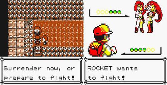 Team Rocket Pokémon Amarillo