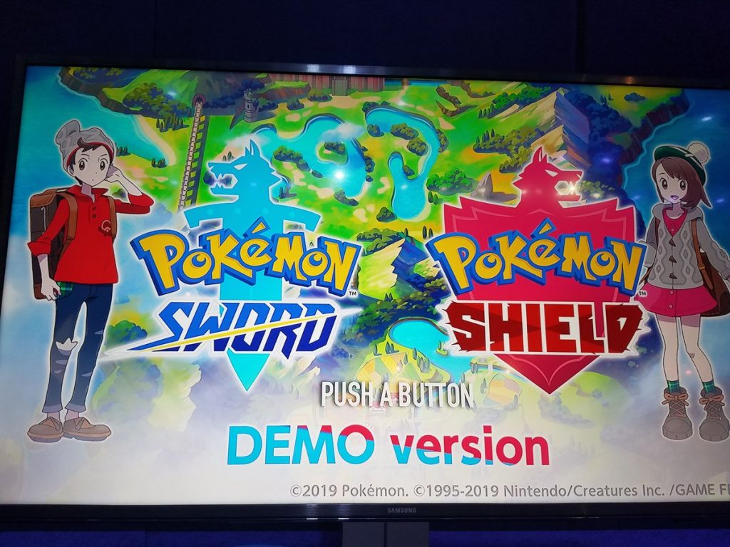 Revelados dos Pokémon en la demo de Pokémon Espada y Pokémon Escudo