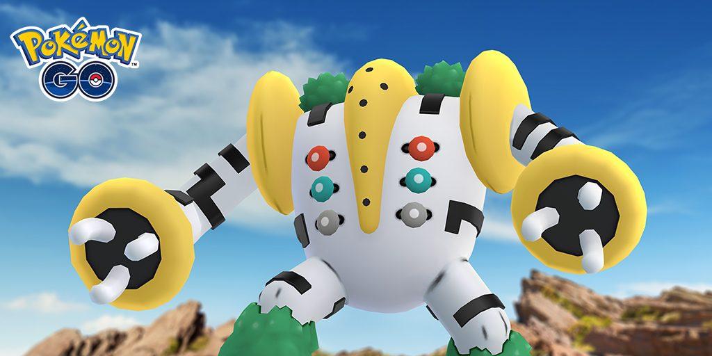 Regigigas llegará despacito a Pokémon GO en noviembre