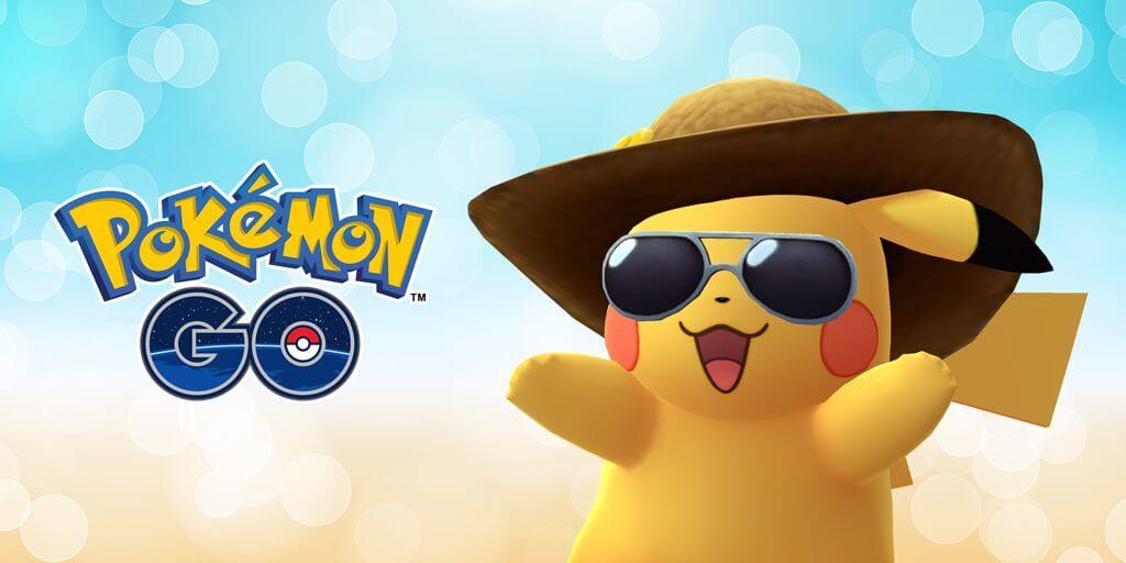 Anunciado OTRO Pikachu con gorra para Pokémon GO con motivo del segundo aniversario