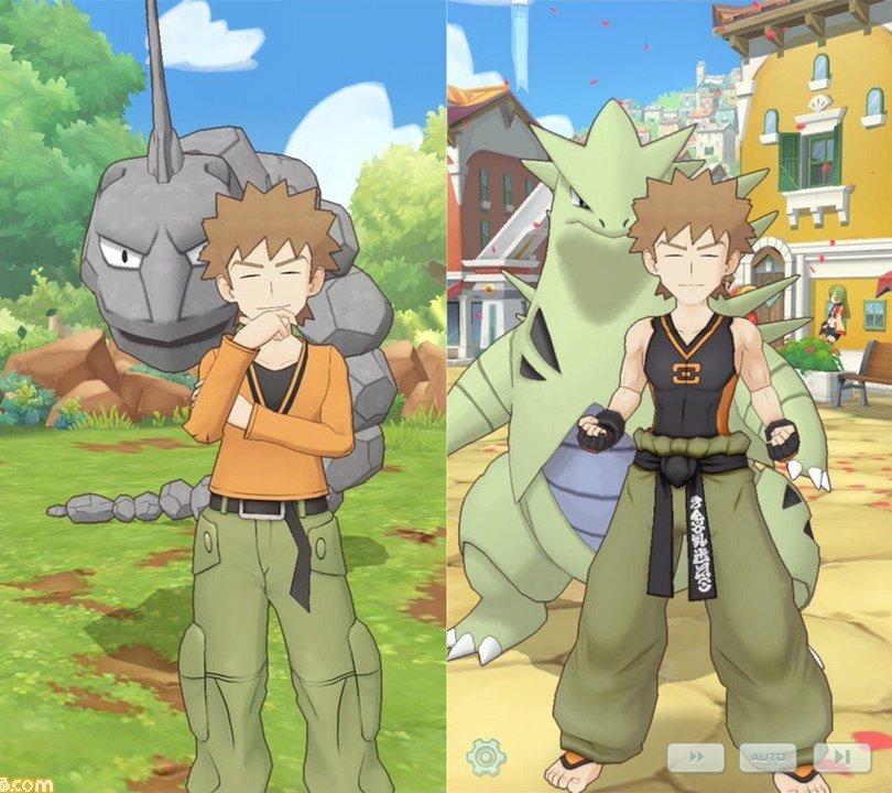 Nuevo vídeo e información de Pokémon Masters