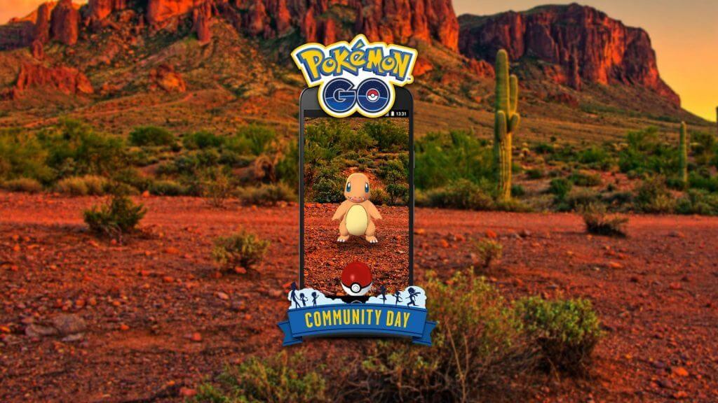 Charmander protagonizará el próximo día de la comunidad en Pokémon GO