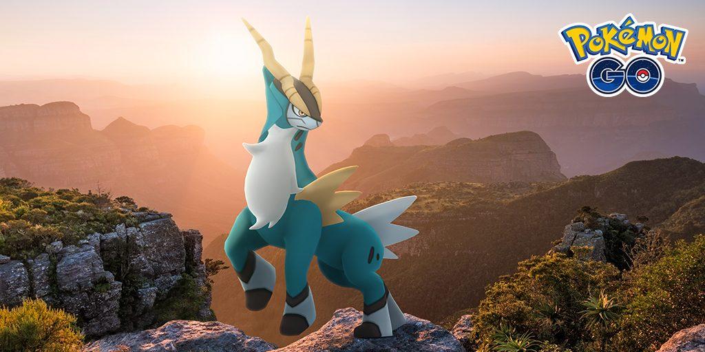 Cobalion regresará a Pokémon GO en medio de una pandemia mundial