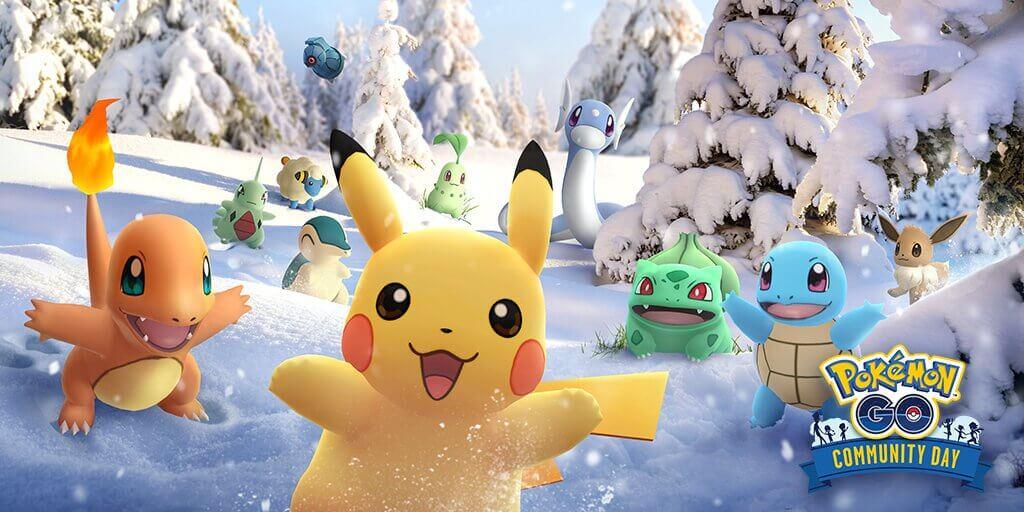 Todos los Pokémon del día de la comunidad volverán en diciembre
