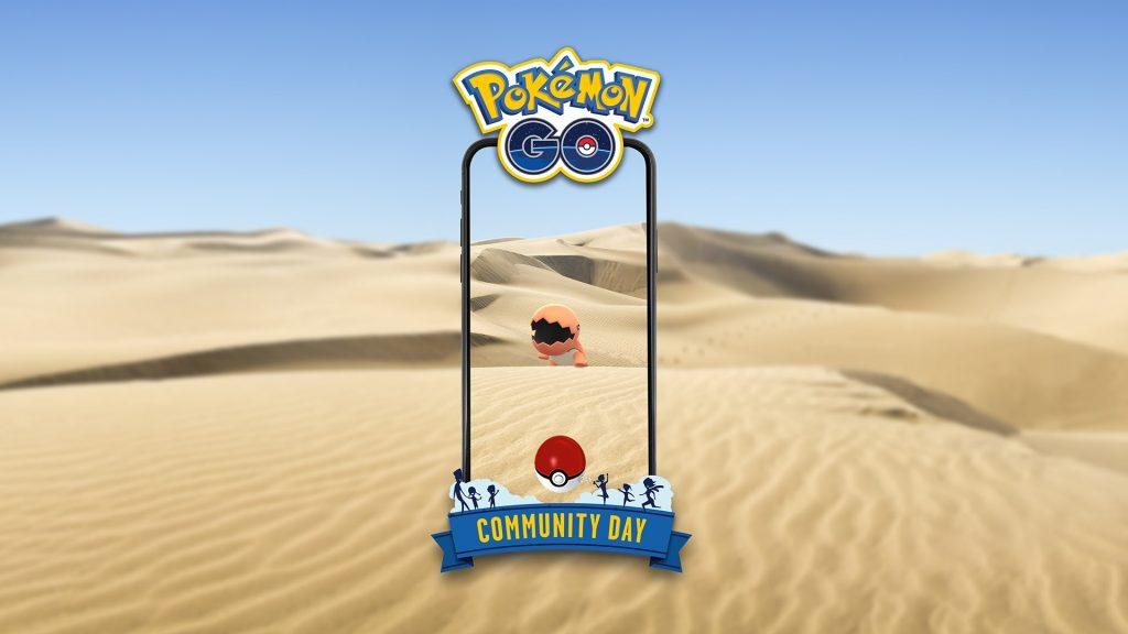 Trapinch protagonizará el próximo Día de la Comunidad en Pokémon GO