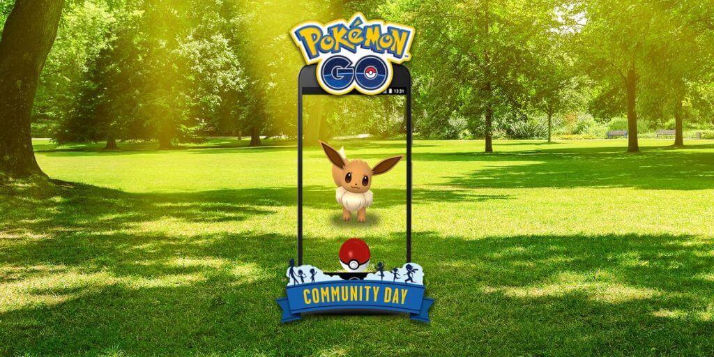 Eevee protagonizará el próximo día de la comunidad en Pokémon GO