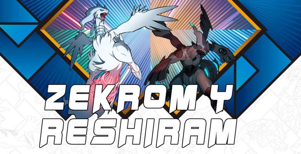 Nuevos detalles sobre la distribución de los legendarios Reshiram y Zekrom