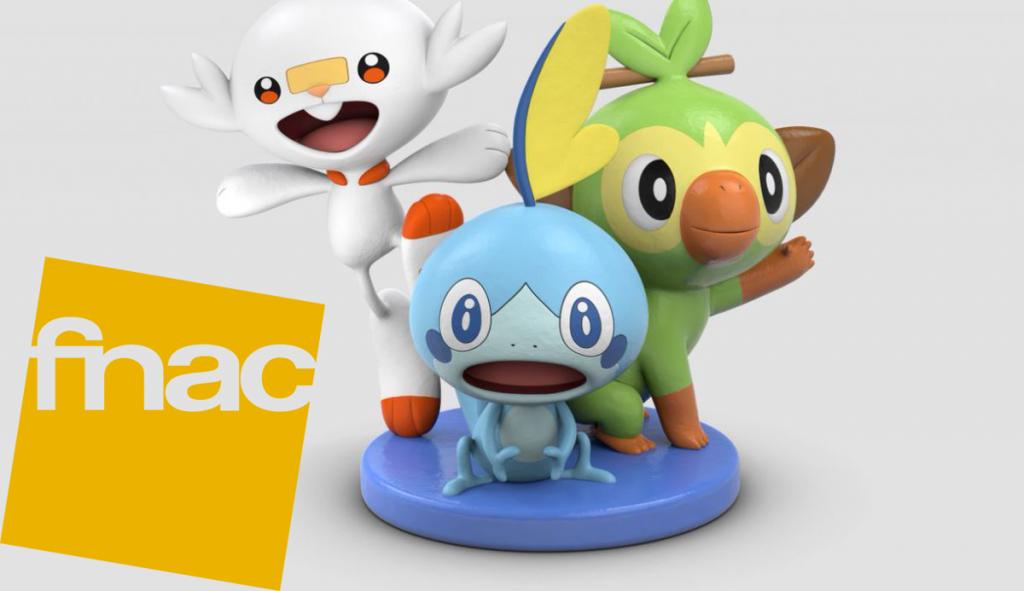 Fnac España ofrecerá regalos con las reservas de Pokémon Espada y Pokémon Escudo