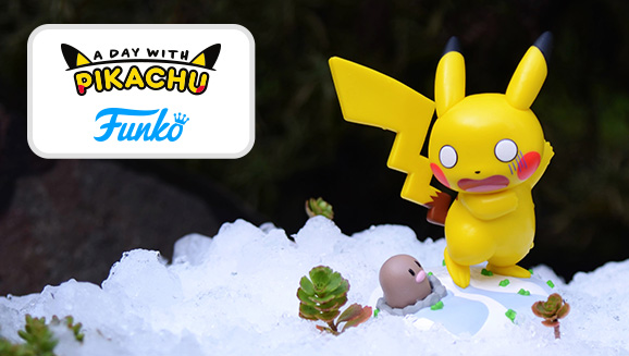 La nueva figura Funko de Pikachu para enero es Surprising Weather Ahead