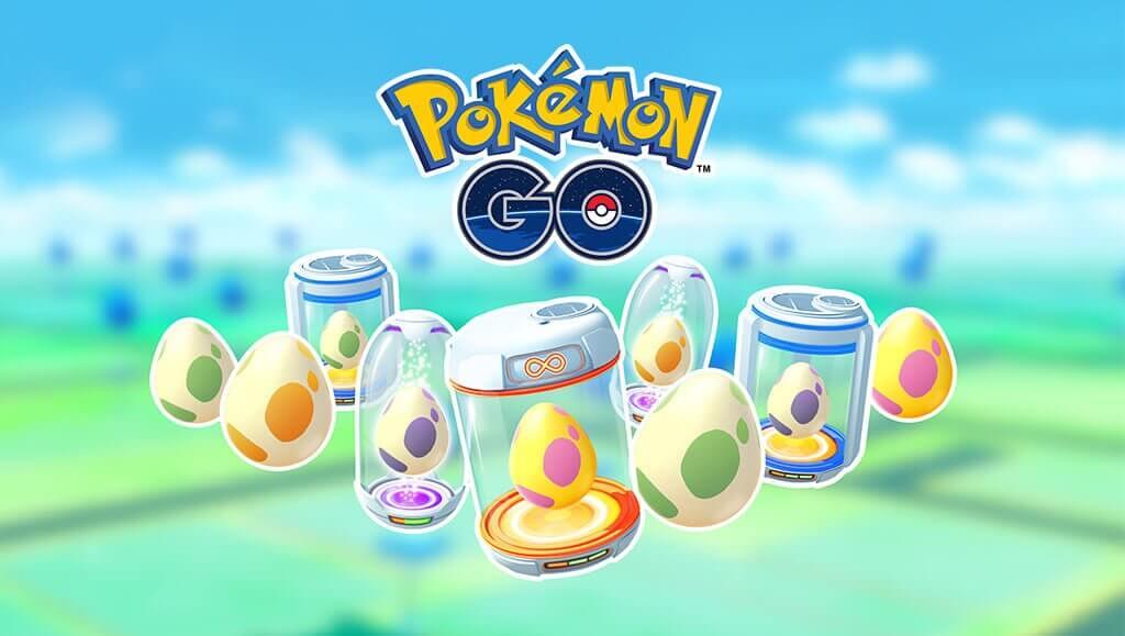 Pokémon GO comienza el año echándole un par de huevos