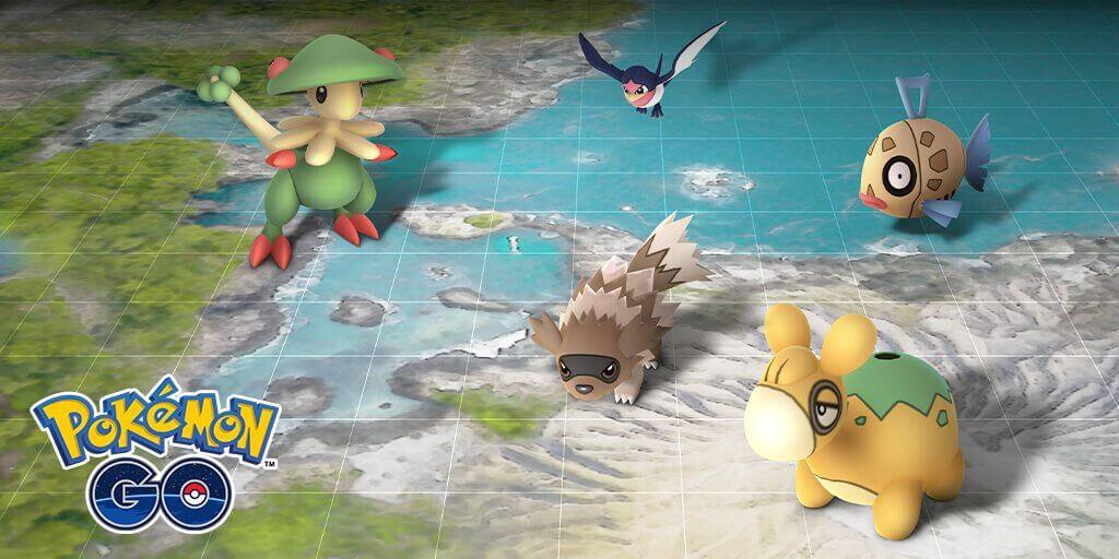 Nuevo evento de Hoenn en Pokémon GO hasta el 29 de enero
