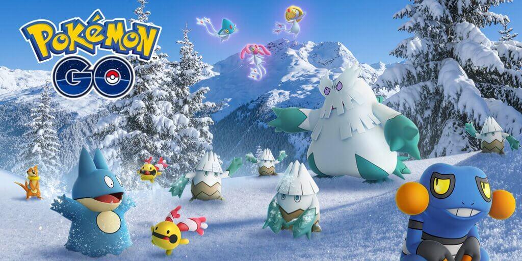 El regreso de Delibird y más Pokémon de cuarta generación en navidad