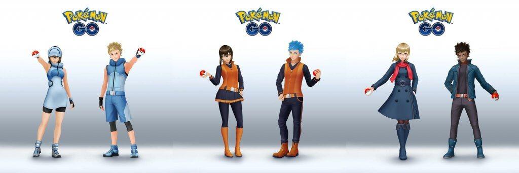 Nuevas prendas de ropa para los perturbadores personajes de Pokémon GO