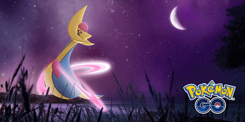 El Pokémon legendario Cresselia llega a las incursiones de Pokémon GO