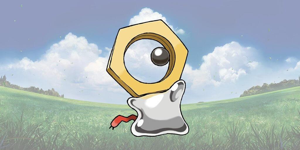 Meltan, el nuevo Pokémon singular de Pokémon Let's Go: Pikachu! y Eevee!