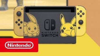 nintendoswitch eevee pikachu