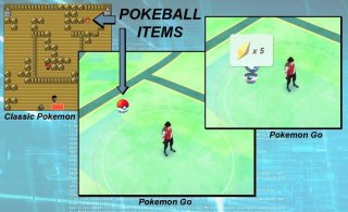 objetos pokemon go