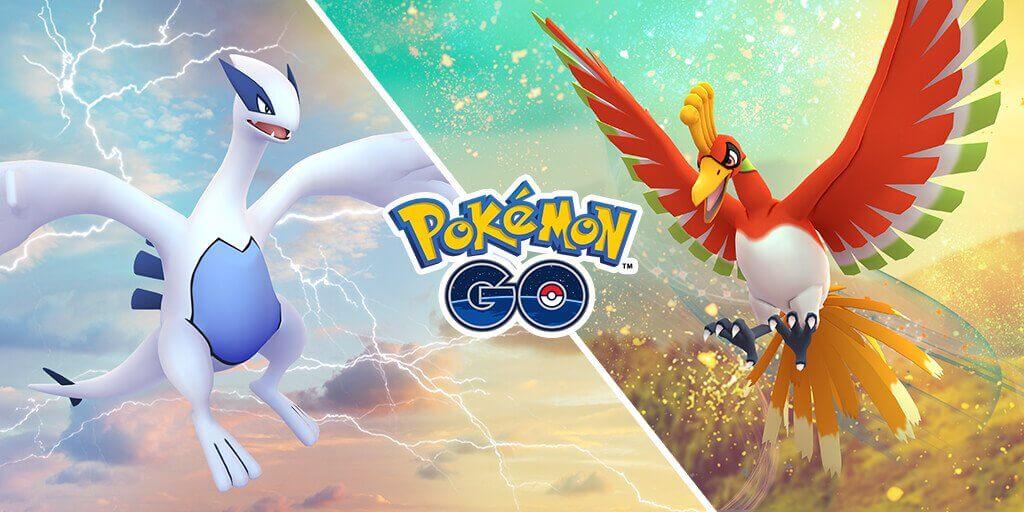 Lugia y Ho-Oh regresarán a Pokémon GO solo durante este fin de semana