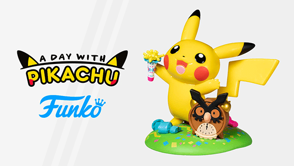 La nueva figura Funko Pop de Pikachu para diciembre es Ringing in the Fun