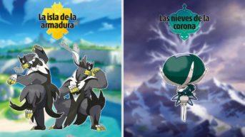 pokémon legendarios nuevos espada escudo