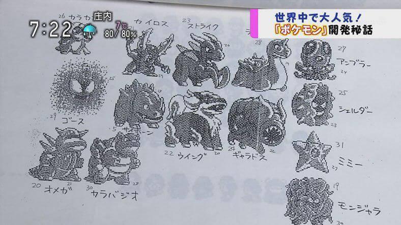 Diseños tempranos muestran lo feos que algunos Pokémon pudieron haber sido