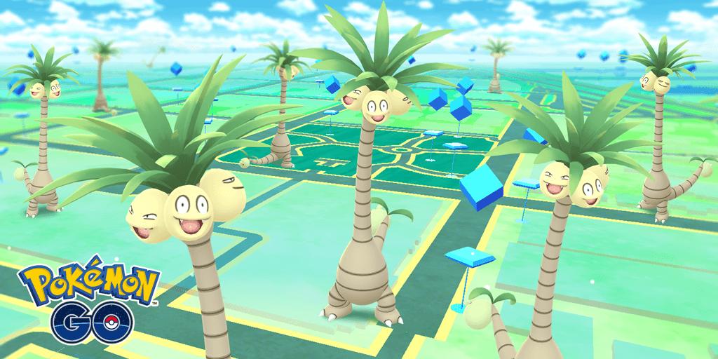 Exeggutor de Alola es la primera forma regional que llega a Pokémon GO