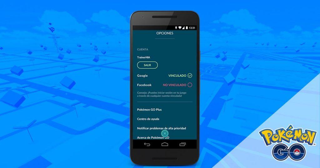 Muy pronto podrás enlazar tu cuenta de Pokémon GO a una red social que vende tus datos ¡Facebook!