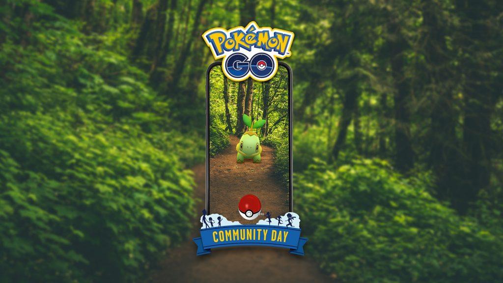 Información sobre el próximo día de la comunidad en Pokémon GO con Turtwig