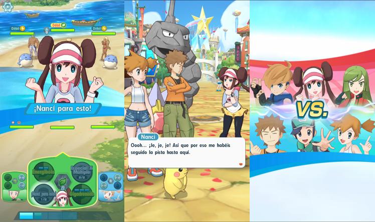 Desvelados nuevos detalles de Pokémon Masters, el nuevo juego de Pokémon para móviles