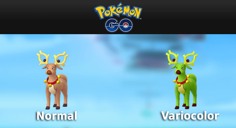 Encontradas nuevas formas de Pikachu y Stantler en Pokémon GO