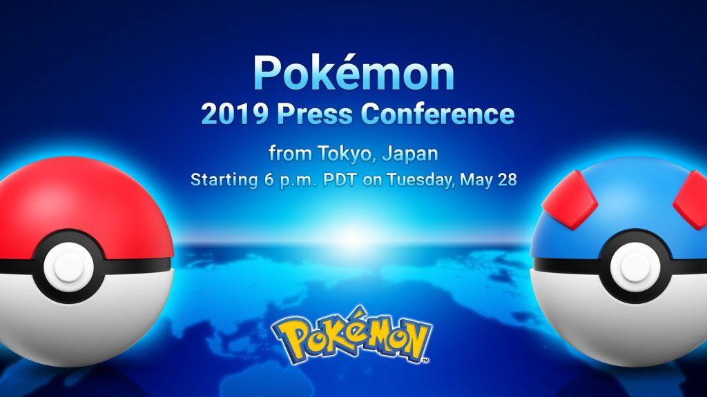 Anunciado un nuevo Pokémon Direct y la conferencia de prensa de este año 2019