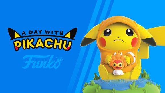 Desvelada la figura Funko Pop de marzo de la colección A Day With Pikachu