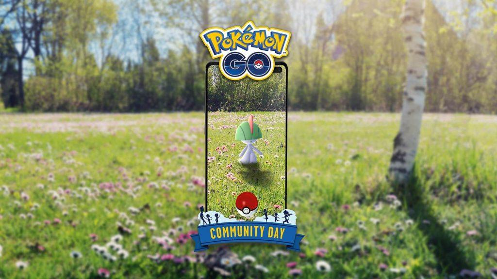 Información sobre Ralts en el próximo Día de la comunidad de Pokémon GO