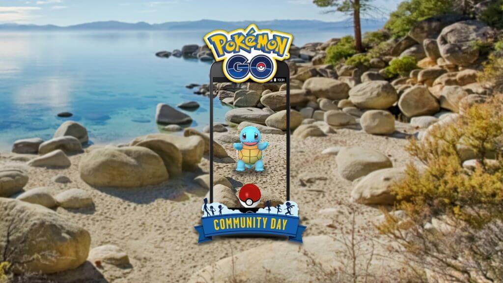 Squirtle protagonizará el próximo Día de la comunidad en Pokémon GO