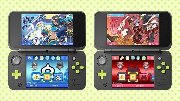 Nuevos temas del Equipo Aqua y Equipo Magma para Nintendo 3DS