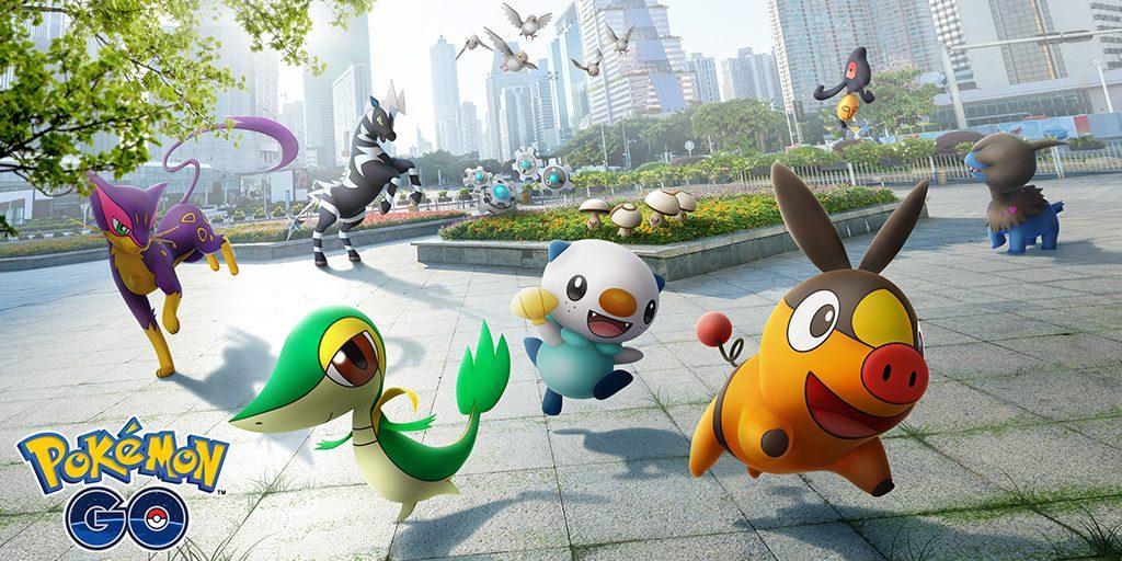 La quinta generación llegará a Pokémon GO en unas horas